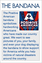 About the Positive American Bandana